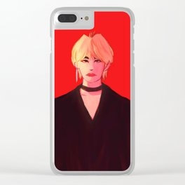 Vamp Taehyung Clear iPhone Case