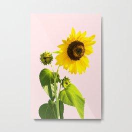 Sun Flower || #society6 #decor #buyart Metal Print