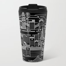TOKYO BY NIGHT Metal Travel Mug