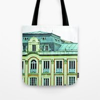 political Tote Bags featuring Political building. by Alejandra Triana Muñoz (Alejandra Sweet