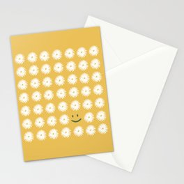 Smiley Daisy Stationery Cards