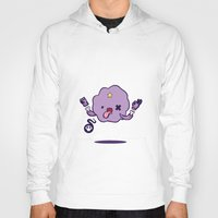 lumpy space princess Hoodies featuring Adventure (run-out-of) Time: LUMPY SPACE PRINCESS by xephilas