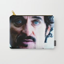 Kim Coates Large Size Portrait Carry-All Pouch