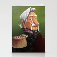 general Stationery Cards featuring General by Jinwoo Kim