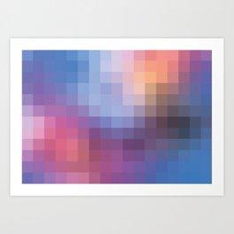 *PIXEL_PATTERN_1 Art Print