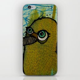 birds of a feather feed together iPhone Skin