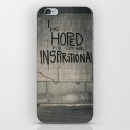 Drayton - Things Hoped For iPhone Skin
