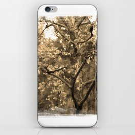 Tree of Hearts - Sepia iPhone Skin