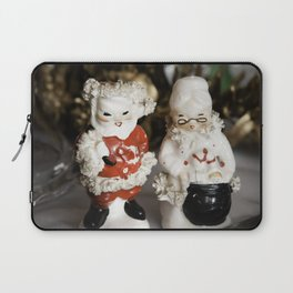 Mr and Mrs Santa Claus Laptop Sleeve