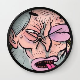 BLACK EYE BILL Wall Clock