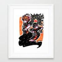 haikyuu Framed Art Prints featuring Haikyuu!! by Agui-chan