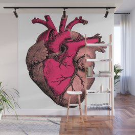 Vintage Heart  Wall Mural