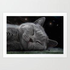 Beauty Sleep Art Print