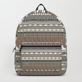 Tribal clay Backpack