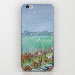 Snowing iPhone Skin