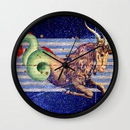 Capricorn - Uranometria Collection Wall Clock