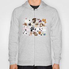 Dog pattern Hoody