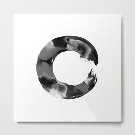 Enso Enlightenment  No.1l by Kathy Morton Stanion Metal Print