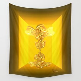 The gratitude plant Wall Tapestry