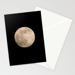 Pink Super Moon 2020 Stationery Cards