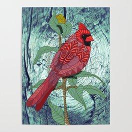 Virginia Cardinal Poster