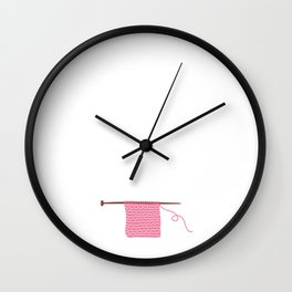 Nothing Compares to Simple Pleasure of Crocheting Wall Clock