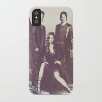 the vampire diaries iPhone & iPod Cases featuring The Vampire Diaries TV Series by Nechifor Ionut