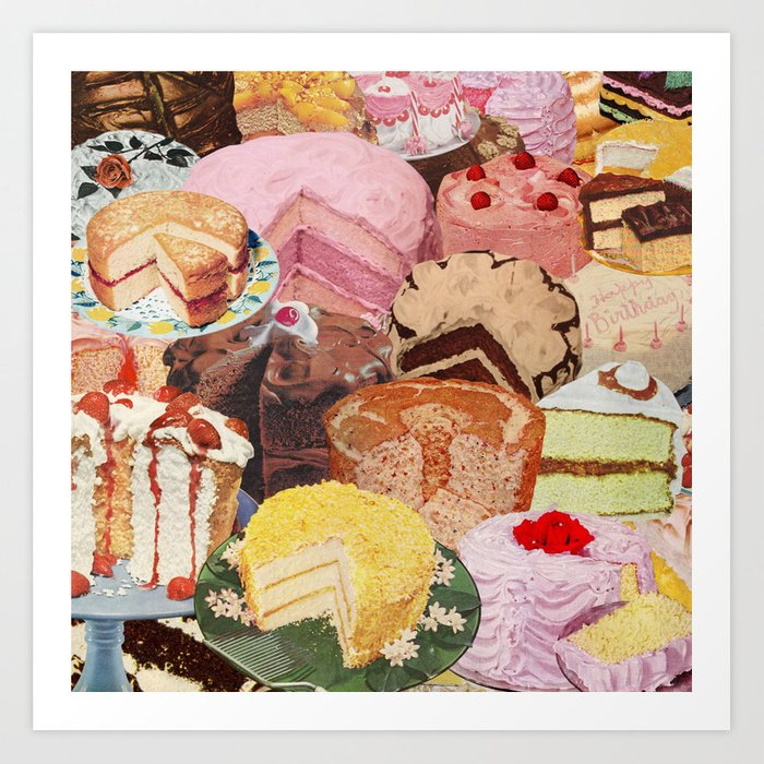 The Icing on the Cake(s) Art Print