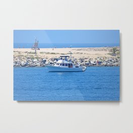 Boating Metal Print