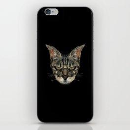 Angry Cyborg Cat  iPhone Skin