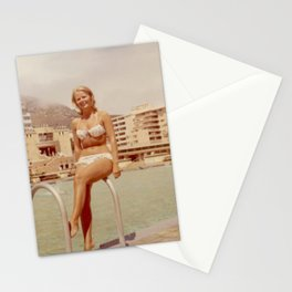 Sea Point lady Stationery Cards