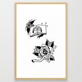 Intrapersonal Framed Art Print
