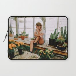 greenhouse girl Laptop Sleeve