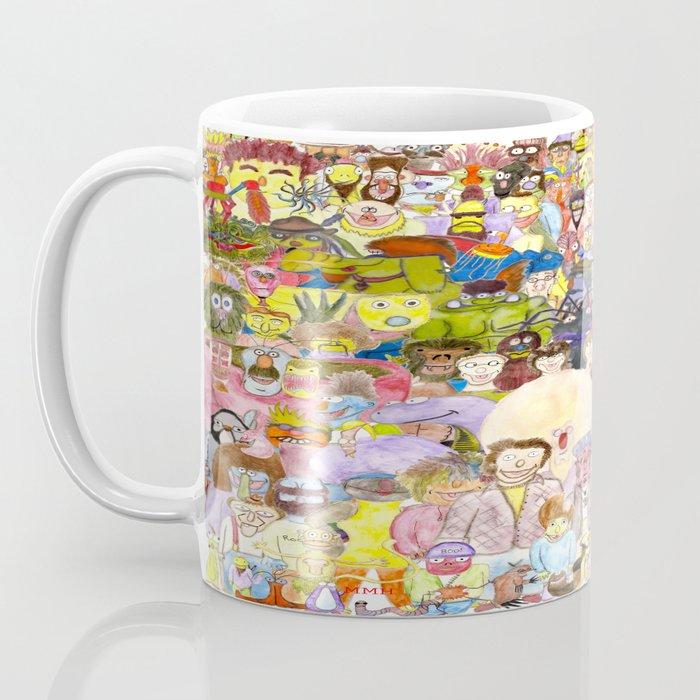 The Fuzzy Crowd Coffee Mug