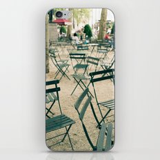 Bryant Park Chairs iPhone & iPod Skin