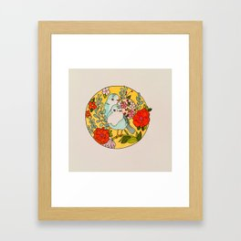My Heart Beats So Fast Framed Art Print