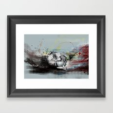 about joy Framed Art Print