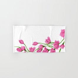 Roses crown Hand & Bath Towel