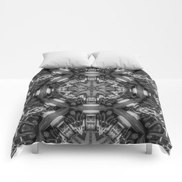 Eight Aisles of Seating Comforters