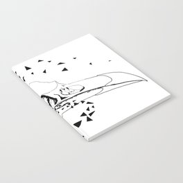 Youngbird Bird Skull Notebook