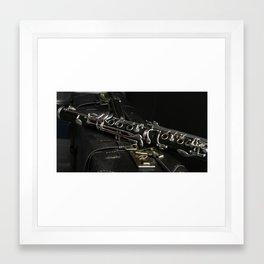 Clarinet Framed Art Print