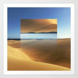 Dunes in Gran Canaria Art Print