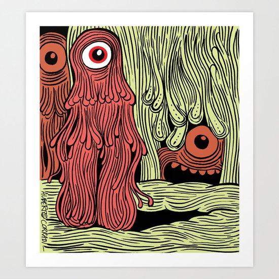 MonsterMold Art Print