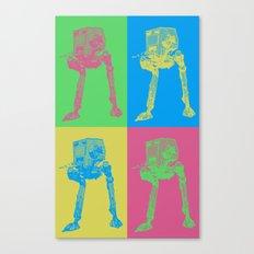 Star Wars: Pop Art AT-ST Canvas Print
