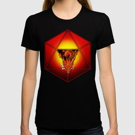 d20 Lucky Dragon T-shirt