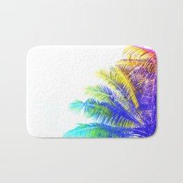 Fantasic Rainbow Palm Tree Bath Mat