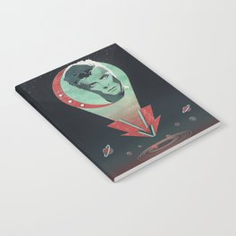 Far Above the Moon Notebook