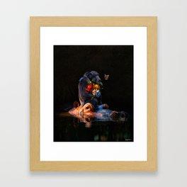 making others feel less broken. Framed Art Print