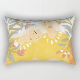 Botanical Girls Rectangular Pillow