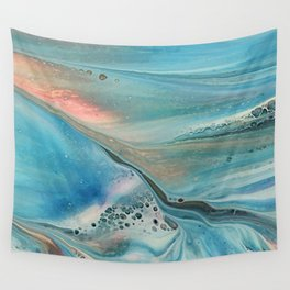 Pearl marble abstraction Wall Tapestry